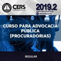 Advocacia Pública (Procuradorias) 2019.2 - CERS
