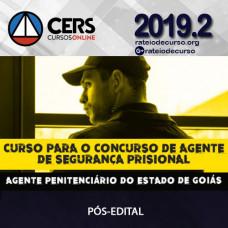 AGEPEN/GO - Agente Penitenciário (Pós-Edital) SEAP - CERS
