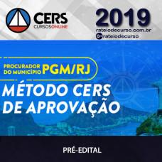 PGM RJ Procuradoria -  CERS  2019
