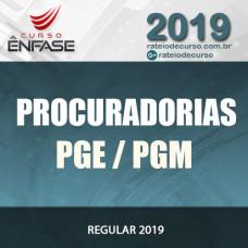 Procuradorias PGE PGM - Ênfase 2019