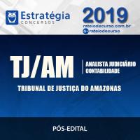 TJ-AM - Analista Judiciário - Contabilidade (Pós-Edital) - Estratégia