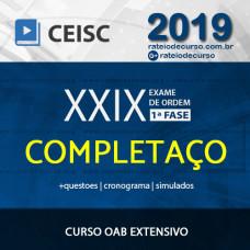 OAB XXIX 1ª FASE - EXTENSIVO ONLINE COMPLETAÇO - CEISC 2019