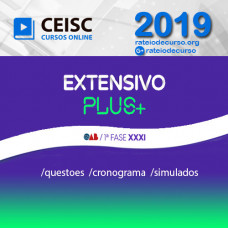 OAB 1ª FASE XXXI (31) EXAME DE ORDEM - EXTENSIVO  PLUS CEISC