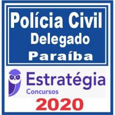 PC PB (Delegado) - Pré Edital