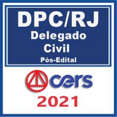 PC RJ - Delegado de Policia Civil 2021 - Pós Edital   C