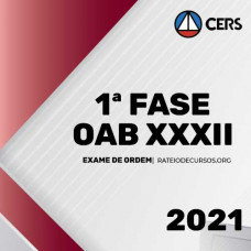 OAB 1ª FASE XXXII (32) EXAME DE ORDEM - INTENSIVO - CERS