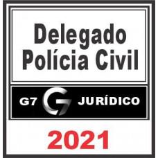 Delegado da Polícia Civil – G7 Jurídico 2021