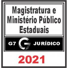 Magistratura e MP Estaduais – G7 Jurídico 2021