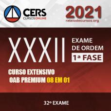 OAB 1ª FASE XXXII (32) EXAME DE ORDEM - EXTENSIVO PREMIUM - CERS