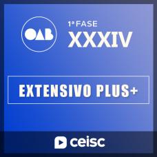 OAB 1ª FASE XXXIV (34º EXAME) Extensivo Plus - C