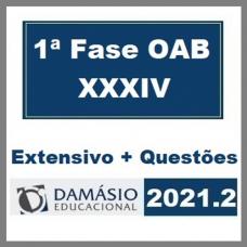 OAB 1ª FASE XXXIV (34º EXAME) Extensivo + Questões - D