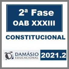 OAB 2 FASE XXXIII 33 (CONSTITUCIONAL) 2021 - D