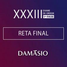 OAB 1ª Fase XXXIII RETA FINAL | Dms