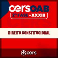 OAB 2ª FASE XXXIII (33º EXAME) DIREITO CONSTITUCIONAL - CERS