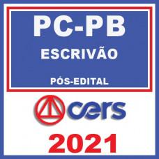 PC PB ESCRIVAO 2021 Reta Final - Pós-Edital - C