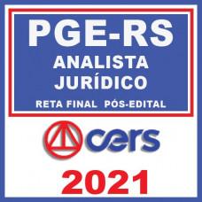 PGE RS - Analista Jurídico - Reta Final 2021