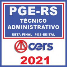 PGE RS - Técnico Administrativo - Reta Final 2021