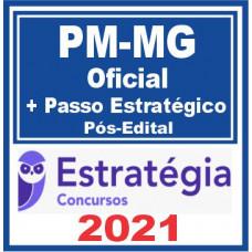 PM MG (Oficial + Passo) Pós Edital – Estratégia 2021