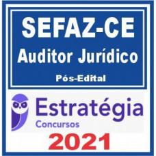 SEFAZ CE Auditor Fiscal Jurídico -  Pacote Teórico + Pacote Passo - 2021 (Pós-Edital)