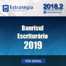 Banrisul - Escriturário - Estratégia 2019