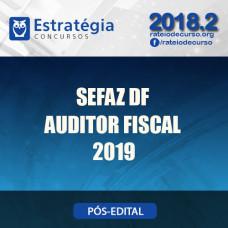 Sefaz DF - Auditor Fiscal - Estratégia 2019