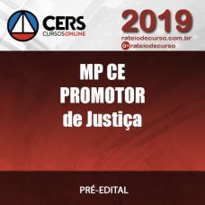 MP CE - Promotor de Justiça - MINISTÉRIO PÚBLICO DO CEARÁ - MÉTODO CERS DE APROVAÇÃO 2019