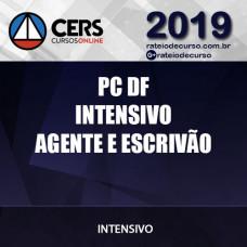 PC DF - Agente e Escrivão - Intensivo - Cers 2019
