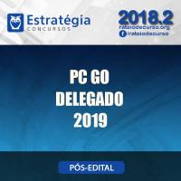 PC GO - Delegado - Polícia Civil Goiás - Estratégia 2019