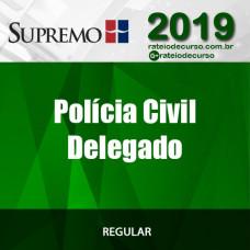 Polícia Civil - Delegado - Supremo 2019