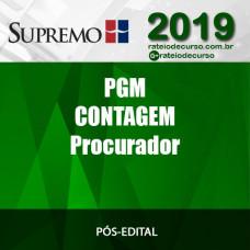 PGM contagem - PROCURADOR - Supremo 2019