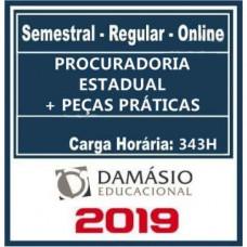 Procuradoria Estadual Regular - 2019 Damásio