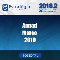 Anpad  - Março - Teste Preparatório - Estratégia 2019