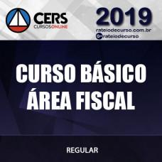 CURSO BÁSICO P/ ÁREA FISCAL 2019 CERS