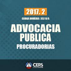 ADVOCACIA PÚBLICA (PROCURADORIAS) 2017.2