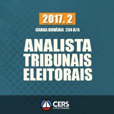 ANALISTA JUDICIÁRIO DE TRIBUNAIS ELEITORAIS -TRE - 2017.2