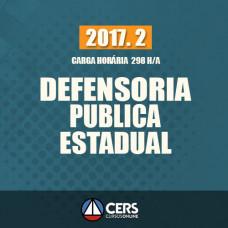 DEFENSORIA PÚBLICA ESTADUAL 2017.2