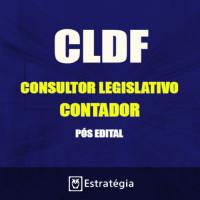 CLDF PÓS EDITAL - CONSULTOR LEGISLATIVO - CONTADOR 2017 – E