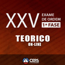 OAB XXV 1ª FASE - EXTENSIVO TEÓRICO ONLINE 2017