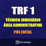 TRF 1ª REGIÃO Pós Edital -  TÉCNICO JUDICIÁRIO - ÁREA ADMINISTRATIVA 2017 (E)