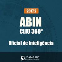 ABIN CLIO 360º - Oficial de Inteligência - 2017.2 - Damásio