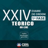OAB XXIV 1ª FASE - EXTENSIVO TEÓRICO ONLINE 2017