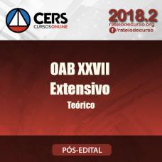 Combo Extensivo + Teórico - OAB 1ª FASE XXVII - CERS 2018