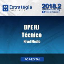 DPE RJ - Técnico Nível Médio - Estratégia 2018