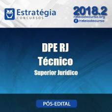 DPE RJ - Técnico Superior Jurídico - Estratégia 2018