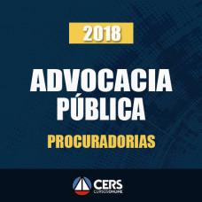 ADVOCACIA PÚBLICA (PROCURADORIAS) 2018