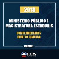 MINISTÉRIO PÚBLICO E MAGISTRATURA ESTADUAIS + COMPLEMENTARES + DIREITO SUMULAR