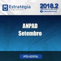 ANPAD SETEMBRO PÓS EDITAL 2018 - ESTRATEGIA