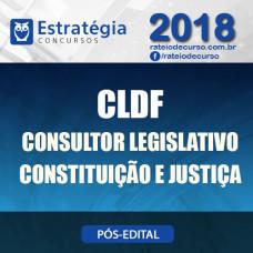 CLDF PÓS EDITAL 2018 - CONSULTOR LEGISLATIVO - CONSTITUIÇÃO E JUSTIÇA - Estrategia