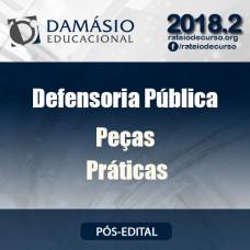 DEFENSORIA PÚBLICA PEÇAS PRÁTICAS Damásio 2018