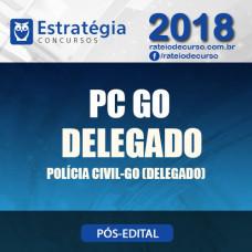 DELEGADO DA POLÍCIA CIVIL DE GOIÁS (DPC/GO) 2018 - Estratégia
